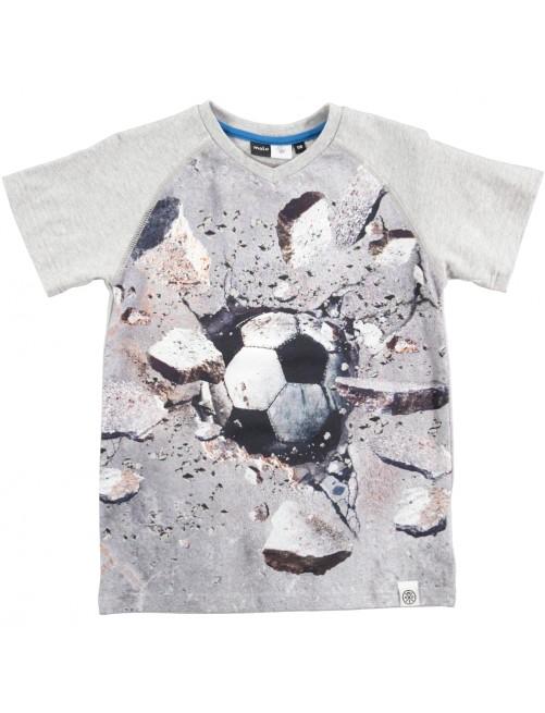 Camiseta Molo Kids Racer Wall Ball
