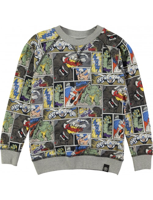 Camiseta Molo Kids Romeo Cartoon