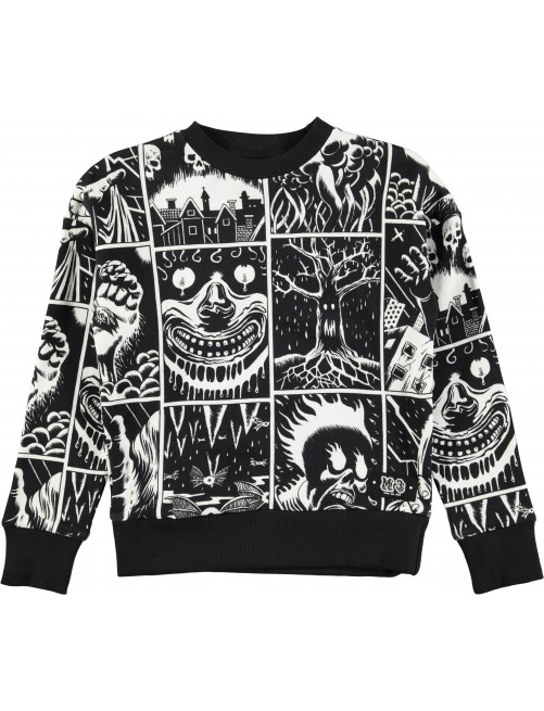 Sudadera Molo Kids Milton Horror Cartoon