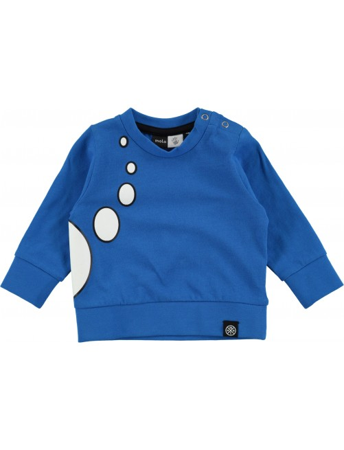 Camiseta Molo Kids Eddy Super Blue