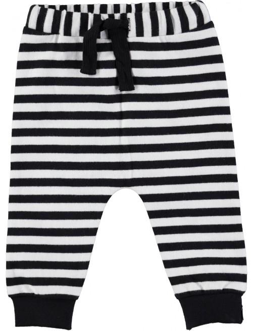 Pantalón Molo Kids Storm B/W Stripe