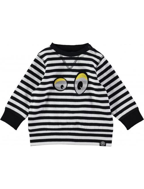 Jersey Molo Kids Dalton B/W Stripe