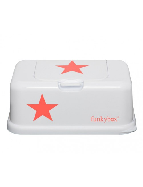 Dispensador FunkyBox blanco estrella Rosa Fluor