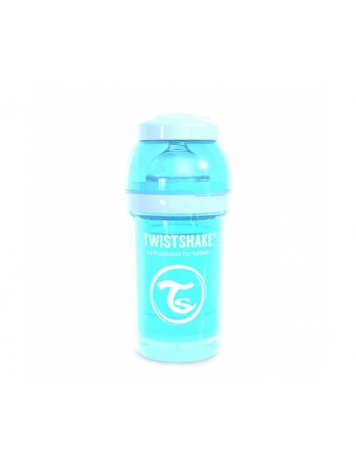Twistshake Biberón Anticólico Azul Pastel 180ml Puericultura Zaragoza Bebe