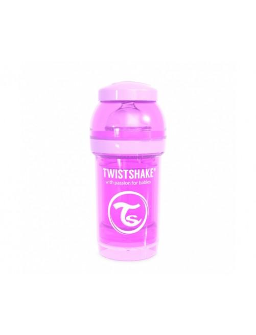 Twistshake Biberón Anticólico Morado Pastel 180ml Puericultura Zaragoza Bebe