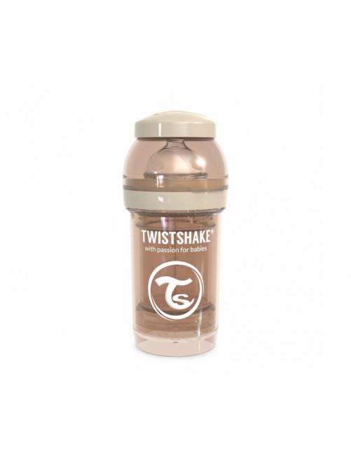 Twistshake Biberón Anticólico Beige 180ml Puericultura Zaragoza Bebe