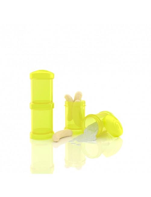 Dosificador Twistshake 2 x 100ml Amarillo