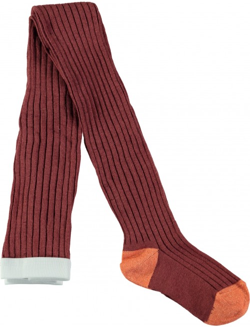 Leotardos Molo Kids Rib Tights Apple Butter