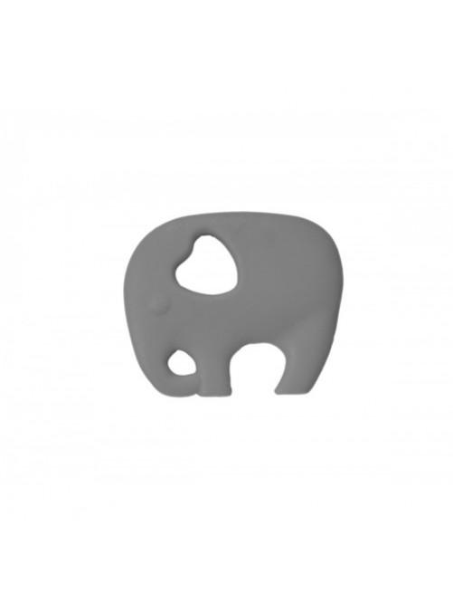 Mordedor Silicona Elefante Gris Addbaby bebe puericultura zaragoza primeros dientes