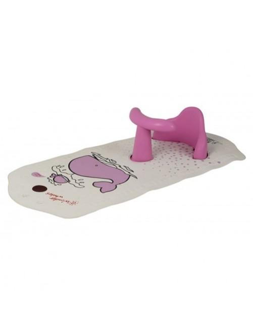 Asiento + Alfombra de Baño Rosa Olmitos tienda online zaragoza puericultura bebes