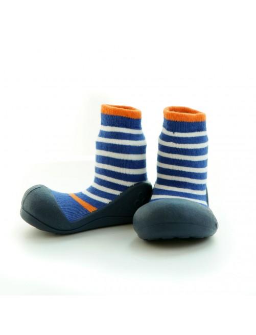 Zapatillas Ringle Azul Rayas Attipas