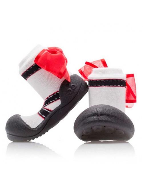 Zapatillas Ballet Negras Attipas