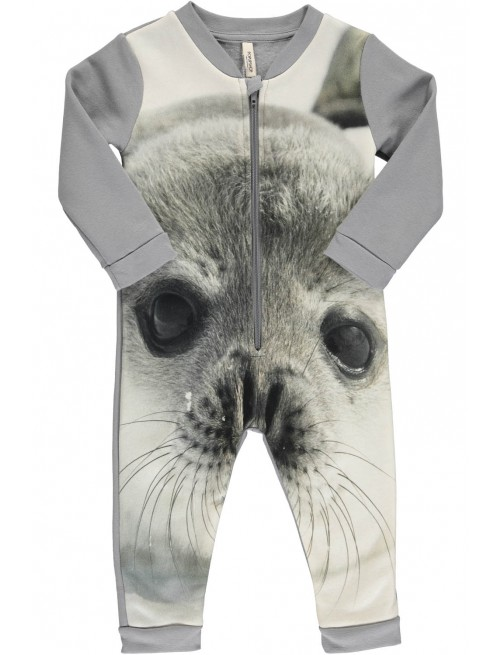 Mono Popupshop Sweat Suit Baby Seal