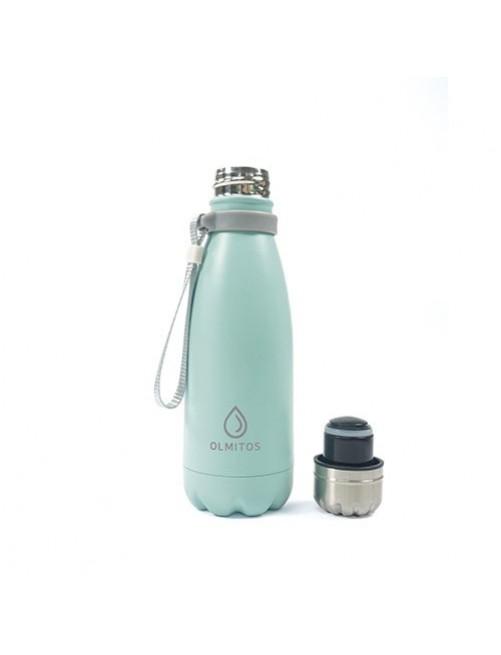 Botella-Acero-inox-Olmitos-Azul-350ml-Bebe-Accesorios-Tienda-Online-Zaragoza-Alimentacion-Liquidos-Termo
