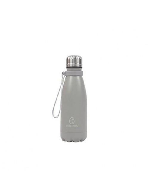 Botella-Acero-inox-Olmitos-Gris-350ml-Bebe-Accesorios-Tienda-Online-Zaragoza-Alimentacion-Liquidos-Termo-Agua