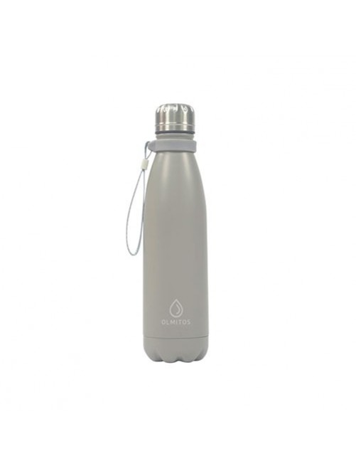 Botella-Acero-inox-Olmitos-Gris-500ml-Bebe-Accesorios-Tienda-Online-Zaragoza-Alimentacion-Liquidos-Termo-Agua