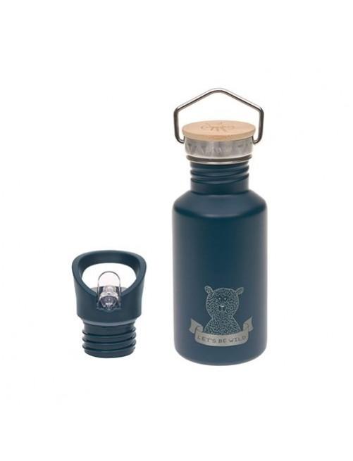 Botella-lassig-acero-inoxidable-azul-pajita-Adventure-Blue-accesorios-bebes-vaso-beber-puericultura-tienda-online-zaragoza