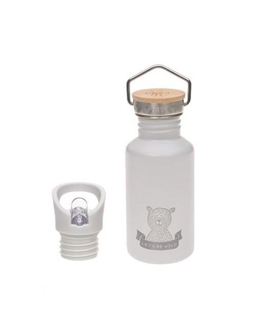 Botella-lassig-acero-inoxidable-gris-pajita-Adventure-Grey-accesorios-bebes-vaso-beber-puericultura-tienda-online-zaragoza