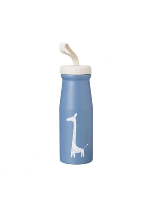 Botella-Termica-380ml-Aluminio-Jirafa-Azul-Fresk-Bebe-Accesorios-Alimentacion-infantil-Tienda-Online-Zaragoza