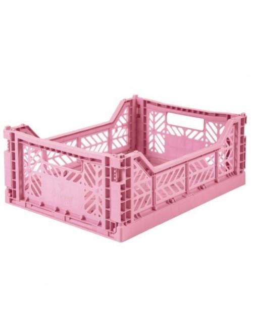 Caja-Plegable-Lillemor-Mediana-Pink-Decoracion-Habitacion-Accesorios-Bebes-Tienda-Zaragoza-Online