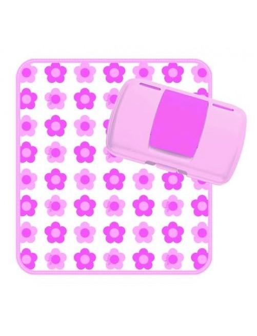 Cambiador + Dispensador Flower Power B.Box puericultura zaragoza mama bebe pañal Funky