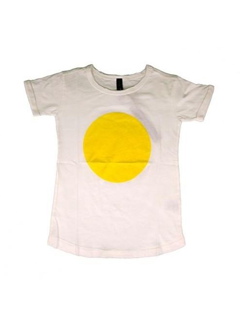 Camiseta Tee 10Days Yellow moda infantil Zaragoza moda casual alternativa tienda moda infantil  Zaragoza