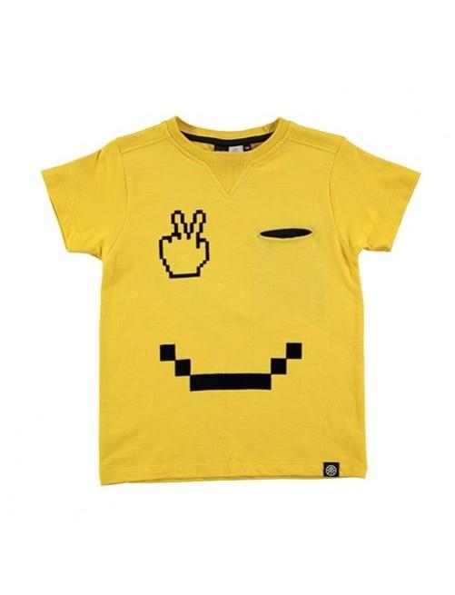 Camiseta-Molo-Kids-Rosinol-Renton-Pacman-moda-infantil-niños-niñas-tienda-online-zaragoza