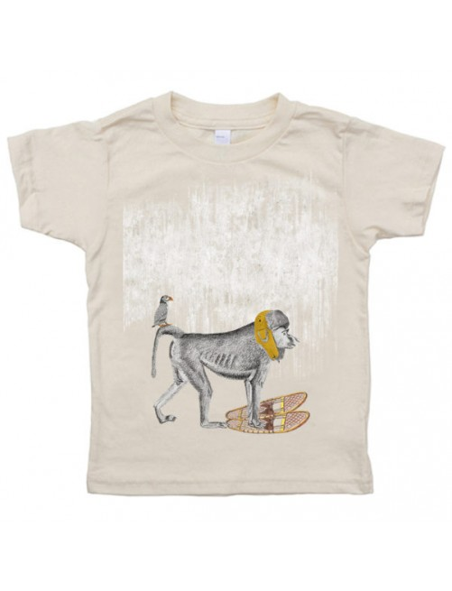 Camiseta Monikako Kids Monkey Organic