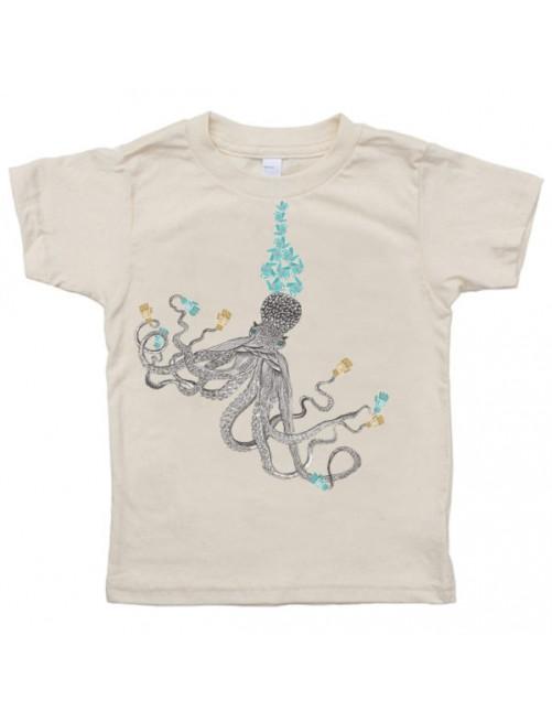 Camiseta Monikako Kids Octopus Organic