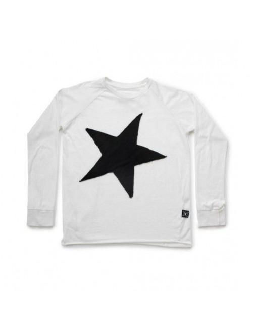 Camiseta Star Patch T-shirt White Nununu  Moda infantil alternativa zaragoza