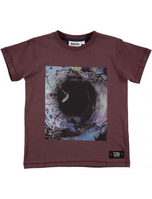 Camiseta Molo Kids Rapo Huckleberry moda infantil niños