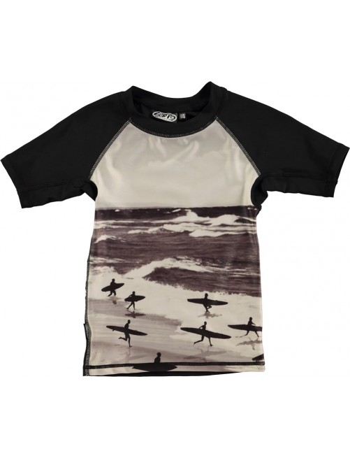 Camiseta Molo Kids Neptune Running Surfers