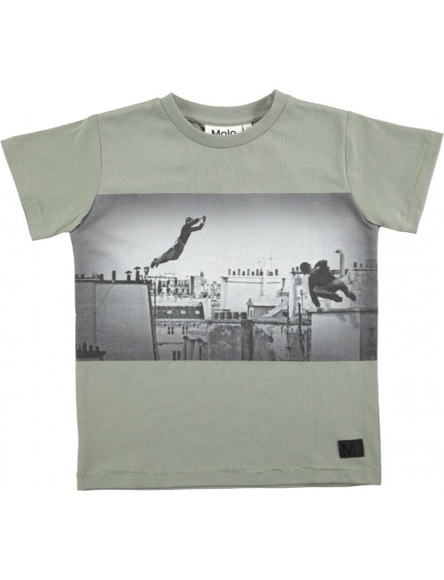 Camiseta Molo Kids rapo Sea Spray Parkour Moda Infantil Zaragoza Niños