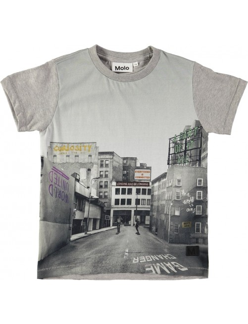 Camiseta Molo Kids raymont City Text Moda Infantil Alternativa Zaragoza tienda Online Urban Raider