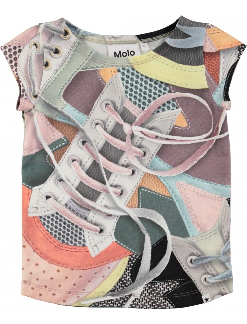 Camiseta Molo Kids Robinette Sneaks Moda Infantil Zaragoza Niñas