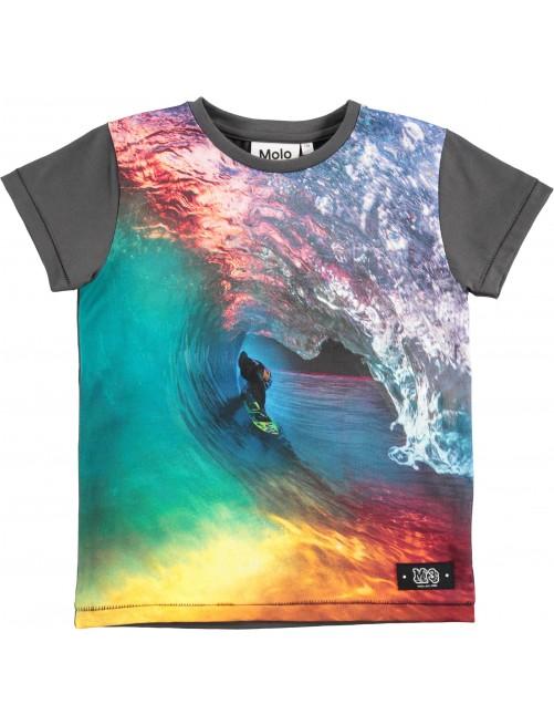 Camiseta Molo Kids Runi Rainbow Sufer Moda Infantil Zaragoza Niños