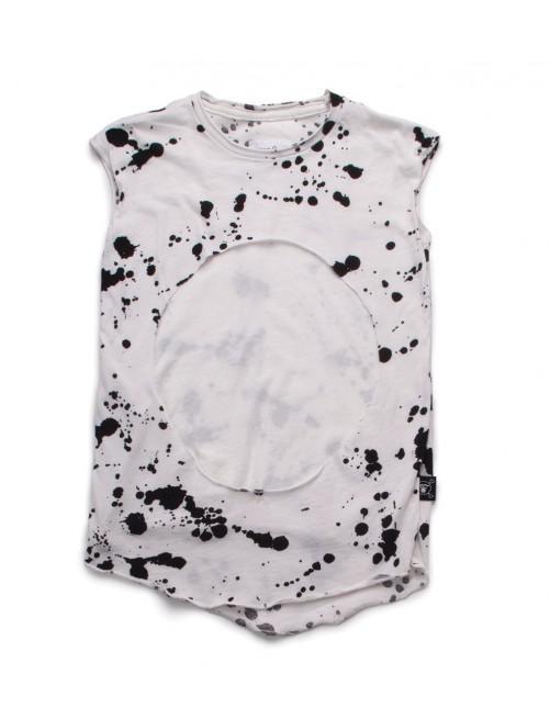 Camiseta Nununu Sleeveless Layered Shirt White