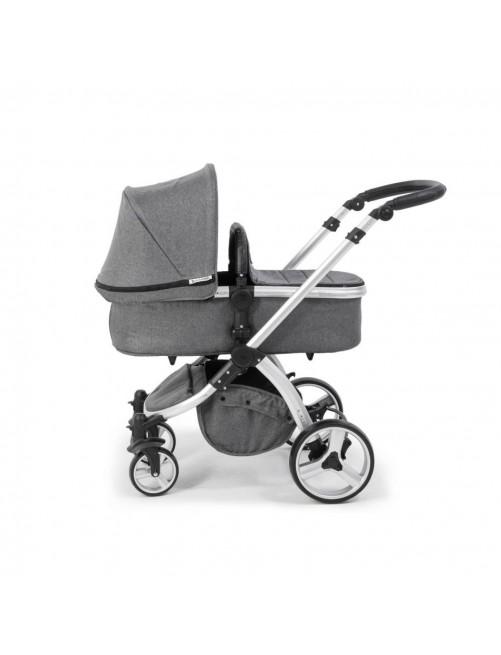 Carrito 3 en 1 Bonarelli 300 Urban Grey Medium capazo bebe