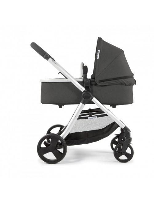 Carrito para bebé Bonarelli 300 2.0 Urban Grey.  Silla para bebé + Capazo + Silla Auto Puericultura Zaragoza