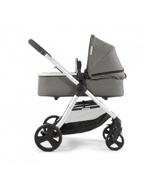 Carrito para bebé Bonarelli 300 2.0 Urban Grey.  Silla para bebé + Capazo + Silla Auto Puericultura Zaragoza medium