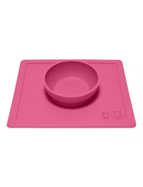 The Happy Bowl EzPz rosa fucsia