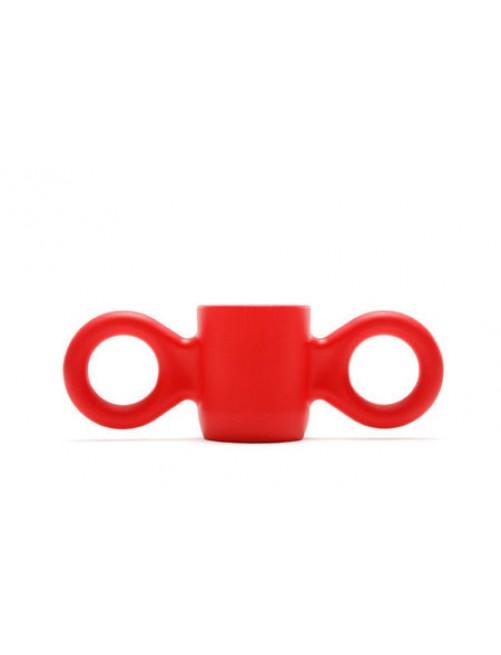 Taza/vaso Dombo rojo