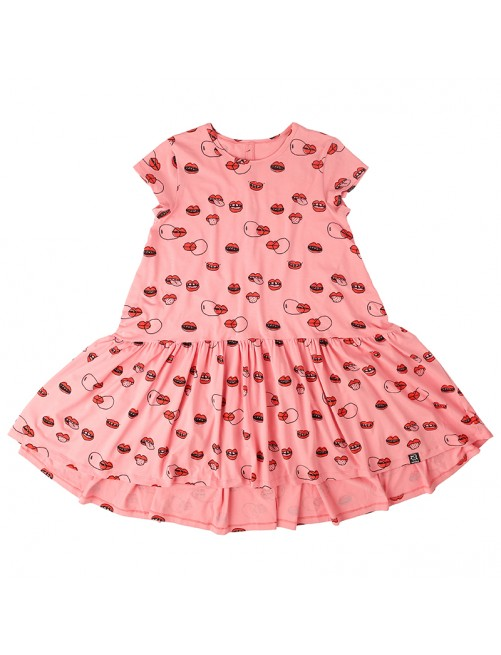 Vestido Mommy Dancing Kukukid Pink Lips