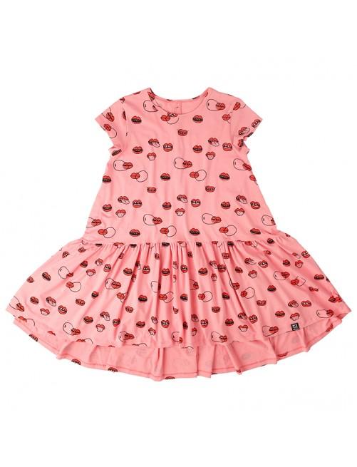 Vestido Mommy Dancing Kukukid Pink Lips Moda Zaragoza Mama Vestiriguales