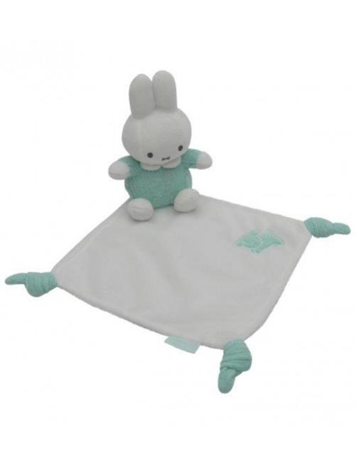 Dou Dou Miffy Gris  mantita doudou bebe recien nacido puericultura estimulos