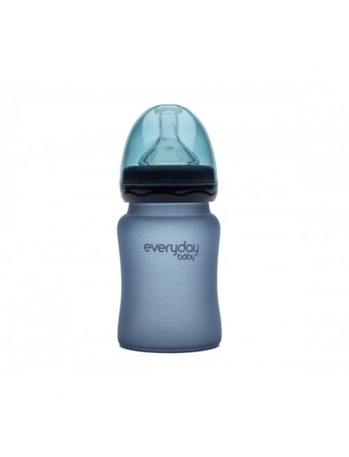 Biberón Cristal Milkhero Blueberry 150ml Everyday Baby Bebe Puericultura Zaragoza