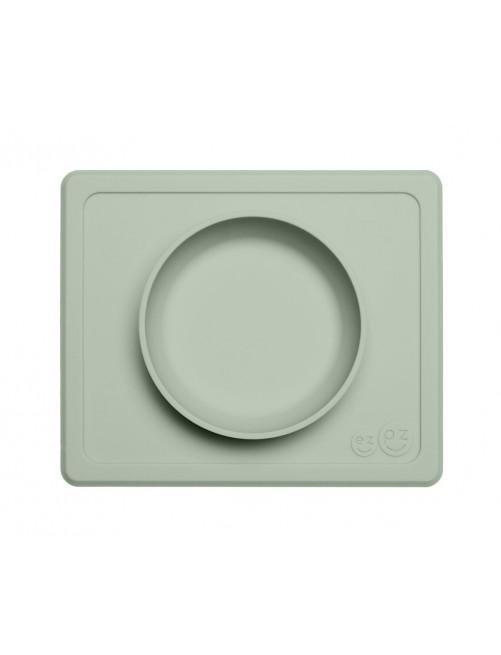 Cuenco The Happy Bowl Mini Sage EzPz  blw puericultura zaragoza plato silicona