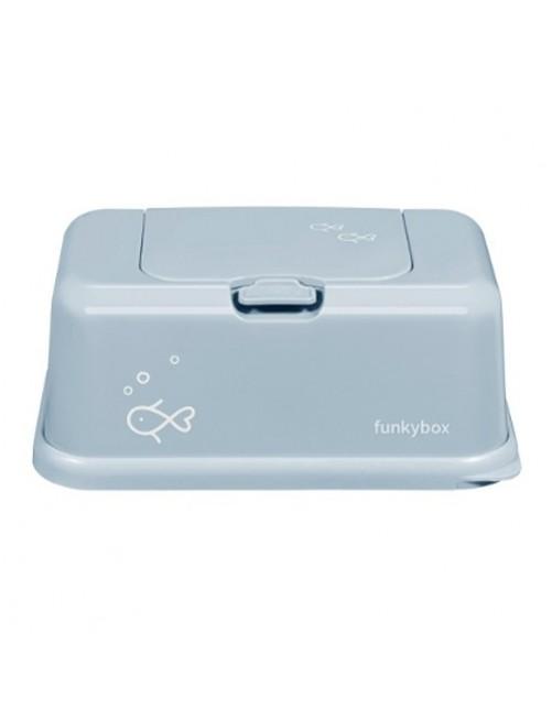 Dispensador FunkyBox Peces Azul  accesorios bebes tienda Puericultura Zaragoza mama recien nacido online