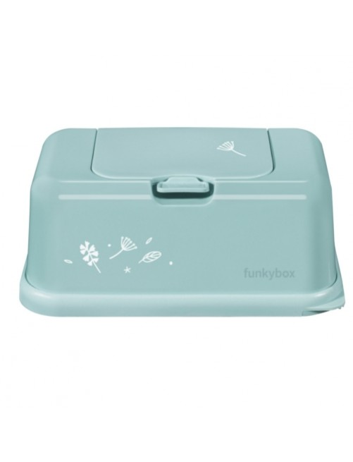 Funkybox-Caja-Toallitas-Hojas-Menta-Tienda-Bebes-Zaragoza-Online-Shop-Mama-Accesorios-Portatoallita-Puericultura