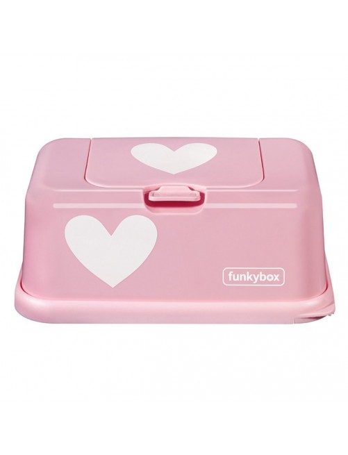 Dispensador FunkyBox Rosa Corazon